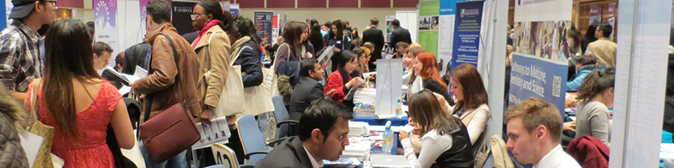 SOAS, Coventry, Hertfordshire, Navitas, Aston and Anglia Ruskin Open Day at SI-UK London - 16 July 2015
